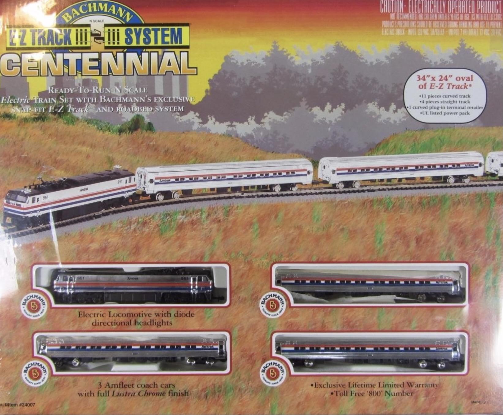 N Scale - Bachmann - 24007 - Passenger Train, Diesel, North American, Modern - Amtrak - Centennial