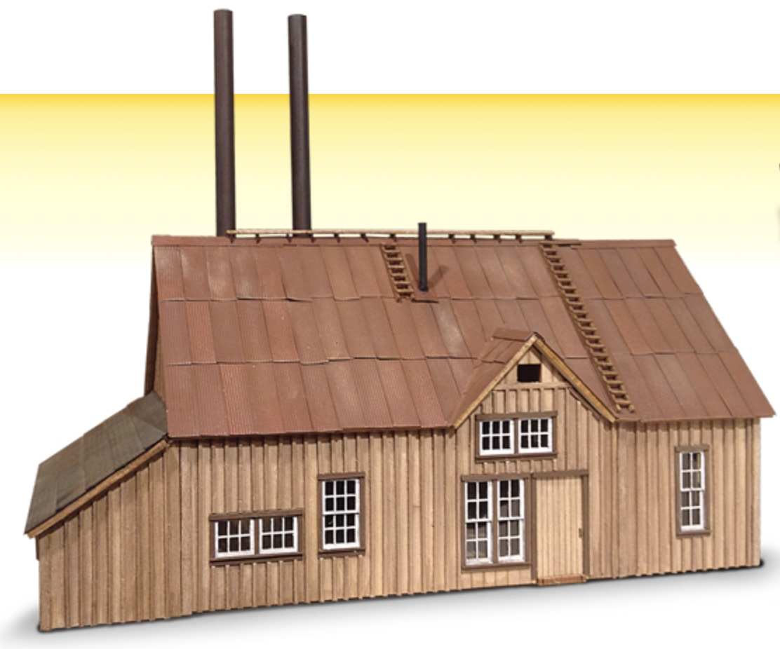 N Scale - Wild West Scale Model Builders - 129 - Structure, Industrial, Ore Mine - Industrial Structures