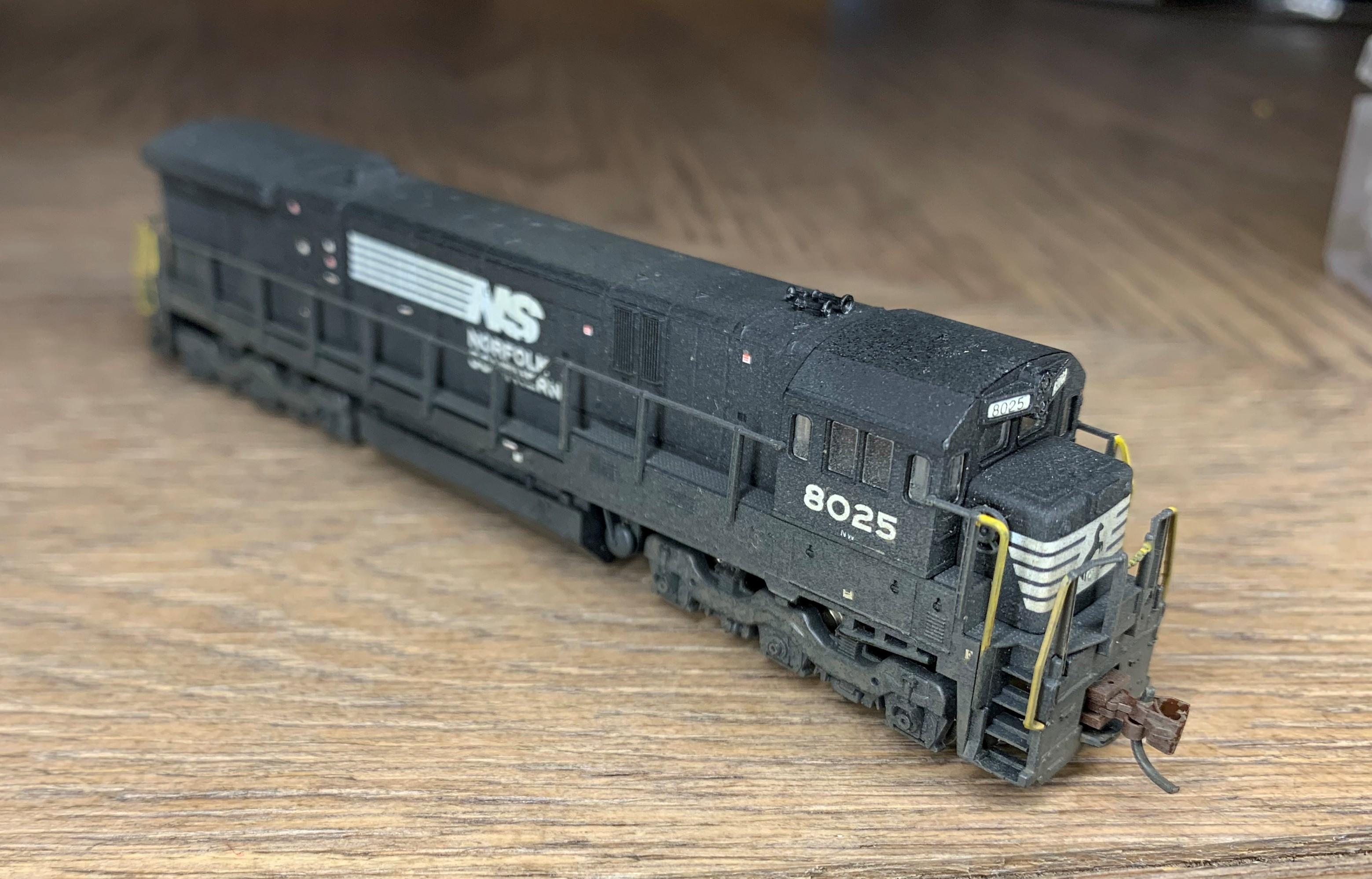 N Scale - Kato USA - 176-30X - Engine, Diesel, C30-7 - Norfolk Southern - 8025