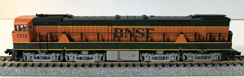 N Scale - Con-Cor - 0001-003310 - Locomotive, Diesel, GE U50 - Burlington Northern Santa Fe - 1215