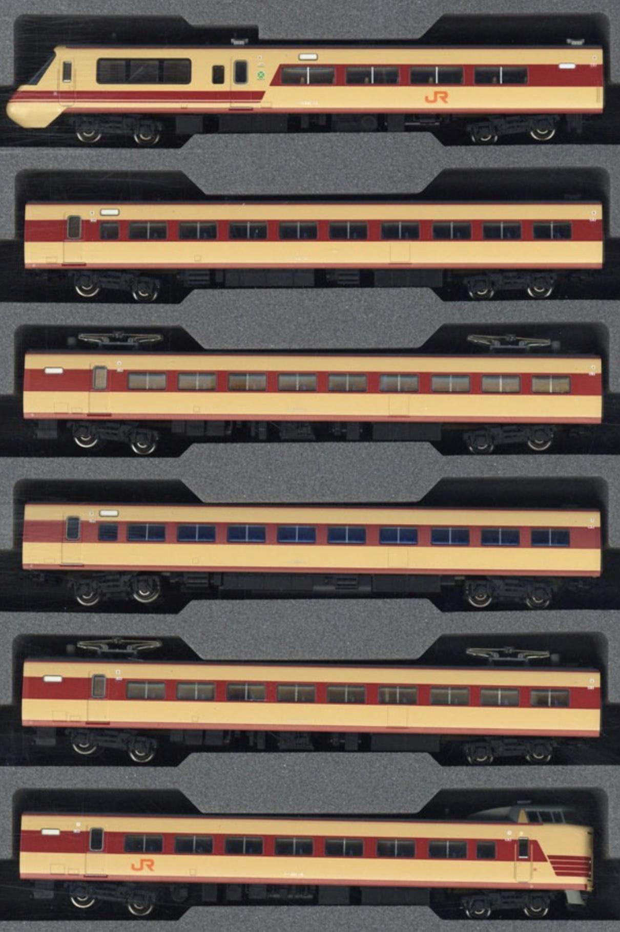 N Scale - Kato - 10-1690 - Passenger Train, Electric, Series 381 - Japan Railways Central - 6-Pack