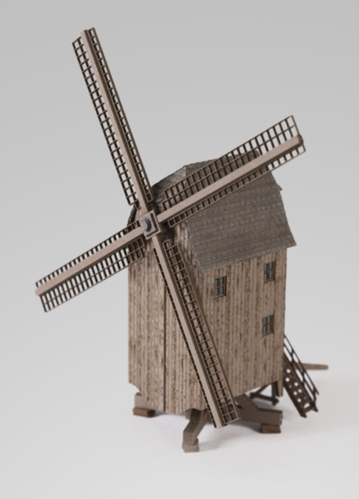 N Scale - Archistories - 702152 - Structure, Commercial, Windmill - Commercial Structures
