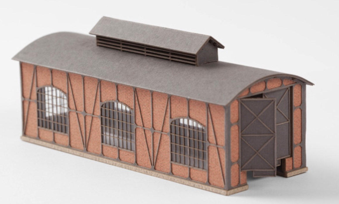 N Scale - Archistories - 103122 - Structure, Building, Railroad, Shed - Railroad Structures
