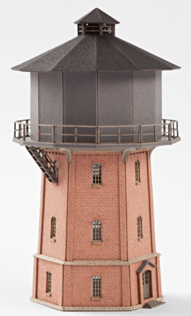 N Scale - Archistories - 109122 - Structure, Municipal, Water Tower - Municipal Structures