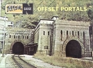 N Scale - Atlas - 2831 - Structure, Railroad, Tunnel Portal - Railroad Structures