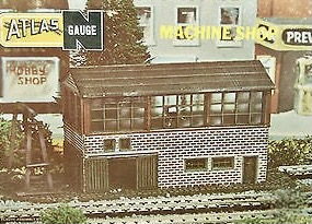 N Scale - Atlas - 2828 - Structure, Industrial, Machine Shop - Industrial Structures