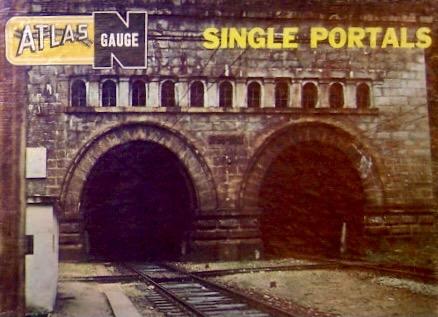 N Scale - Atlas - 2810 - Structure, Railroad, Tunnel Portal - Railroad Structures