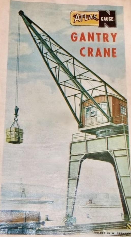 N Scale - Atlas - 2812 - Structure, Railroad, Crane - Railroad Structures