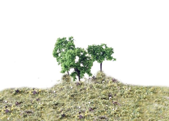 N Scale - Rock Island Hobby - RIH 024101 - Scenery, Trees, Deciduous - Scenery