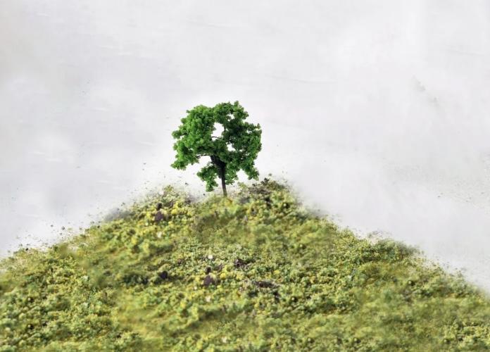 N Scale - Rock Island Hobby - RIH 024100 - Scenery, Trees, Deciduous - Scenery