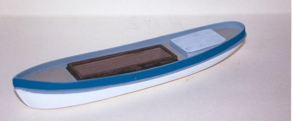 N Scale - Sea Port Model Works - M46 - Boat, Coaster - Undecorated
