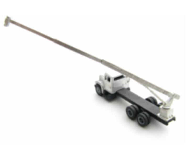 N Scale - Showcase Miniatures - 64 - Accessories, Detail Parts, Crane - Undecorated - Medium Duty Crane on Pedestal Mount