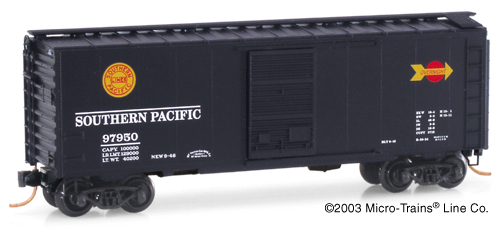 N Scale - Micro-Trains - 20090 - Boxcar, 40 Foot, PS-1 - Southern Pacific - 97940