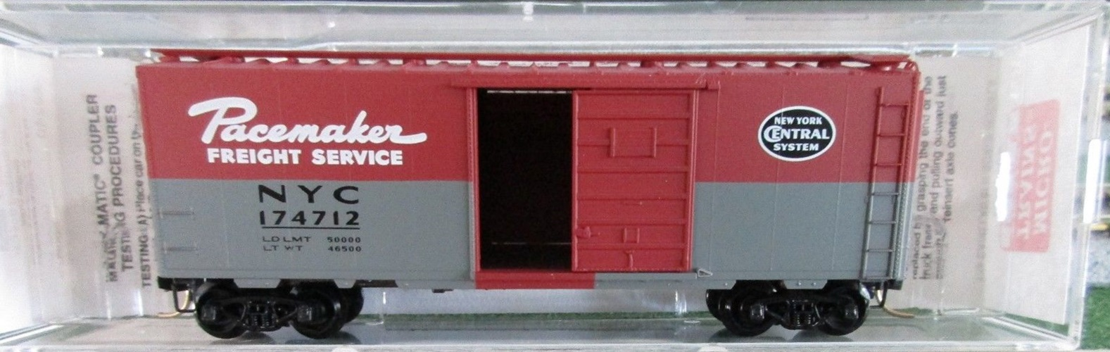 N Scale - Micro-Trains - 20240 - Boxcar, 40 Foot, PS-1 - New York Central - 174712