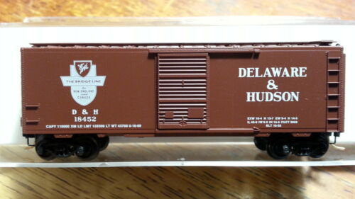 N Scale - Micro-Trains - 20520 - Boxcar, 40 Foot, PS-1 - Delaware & Hudson - 18452
