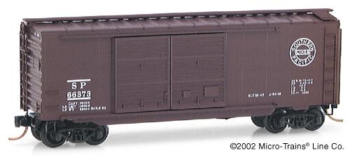 N Scale - Micro-Trains - 23020 - Boxcar, 40 Foot, PS-1 - Southern Pacific - 66373