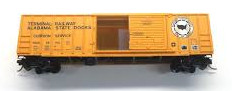 N Scale - Micro-Trains - 25160 - Boxcar, 50 Foot, FMC, 5077 - Terminal Railway Alabama State Docks - 78142