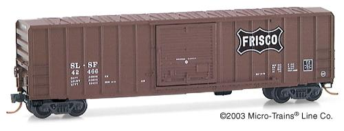 N Scale - Micro-Trains - 25270 - Boxcar, 50 Foot, FMC, 5077 - Frisco - 42466