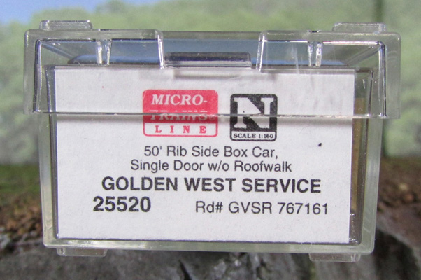 N Scale - Micro-Trains - 25520 - Boxcar, 50 Foot, FMC, 5077 - Golden West Service - 767161