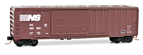 N Scale - Micro-Trains - 030 00 220 - Boxcar, 50 Foot, Steel - Norfolk Southern - 403804