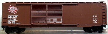 N Scale - Micro-Trains - 34140 - Boxcar, 50 Foot, PS-1 - Milwaukee Road - 13252
