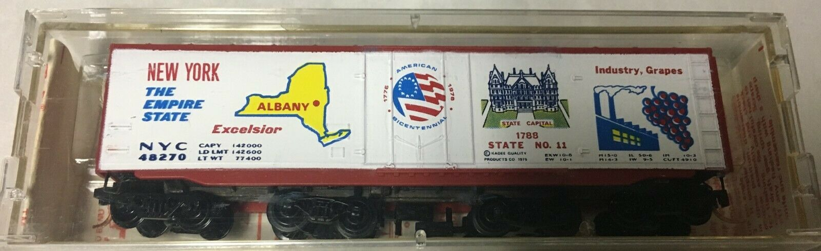 N Scale - Micro-Trains - 38040 - Boxcar, 50 Foot, Steel, Plug Door - New York Central - 48270
