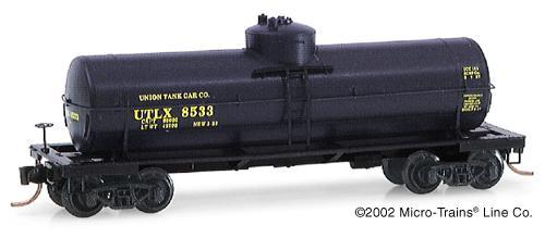 N Scale - Micro-Trains - 65060 - Tank Car, Single Dome, 39 Foot - Union Tank Car - 73689