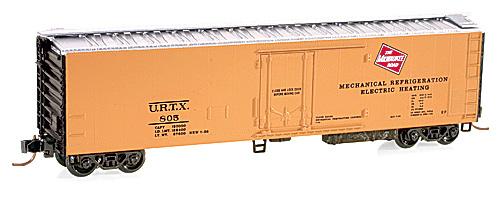 N Scale - Micro-Trains - 69060 - Reefer, 50 Foot, Mechanical - Milwaukee Road - 800