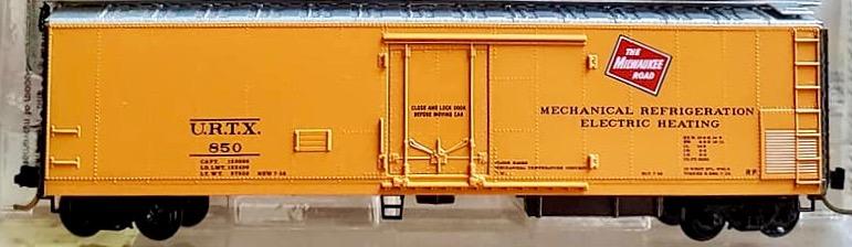 N Scale - Micro-Trains - 69060 - Reefer, 50 Foot, Mechanical - Milwaukee Road - 850