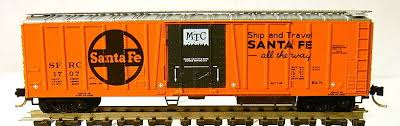 N Scale - Micro-Trains - 70070 - Reefer, 50 Foot, Mechanical - Santa Fe - 1707
