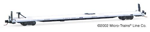 N Scale - Micro-Trains - 71060 - Flatcar, 89 Foot, TOFC - Pepsi - 710103
