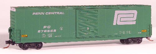 N Scale - Micro-Trains - 104020 - Boxcar, 60 Foot, High-Cube - Penn Central - 278655