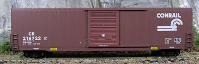 N Scale - Micro-Trains - 104040 - Boxcar, 60 Foot, High-Cube - Conrail - 216722