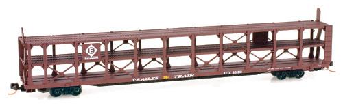 N Scale - Micro-Trains - 112 00 040 - Autorack, Open, F89F Tri-Level - Erie Lackawanna - 901010
