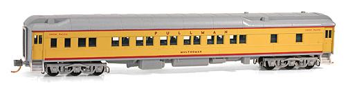 N Scale - Micro-Trains - 142 00 060 - Passenger Car, Heavyweight, Pullman Sleeper 12-1 - Union Pacific - Multnomah