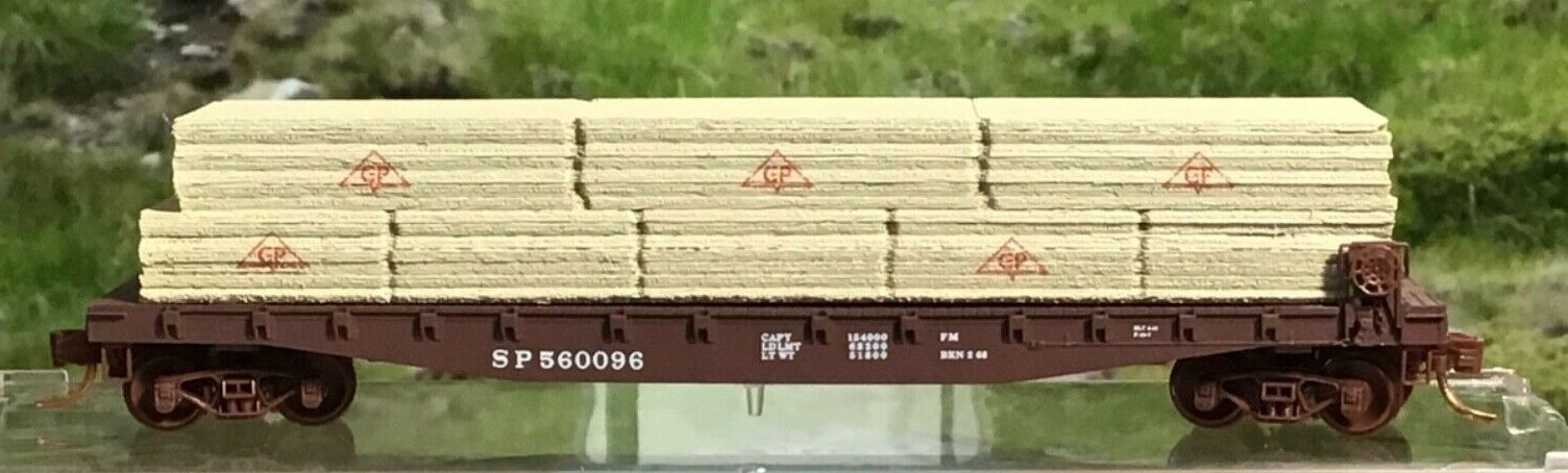 N Scale - Micro-Trains - 045 56 450 - Flatcar, 50 Foot - Southern Pacific - 560096