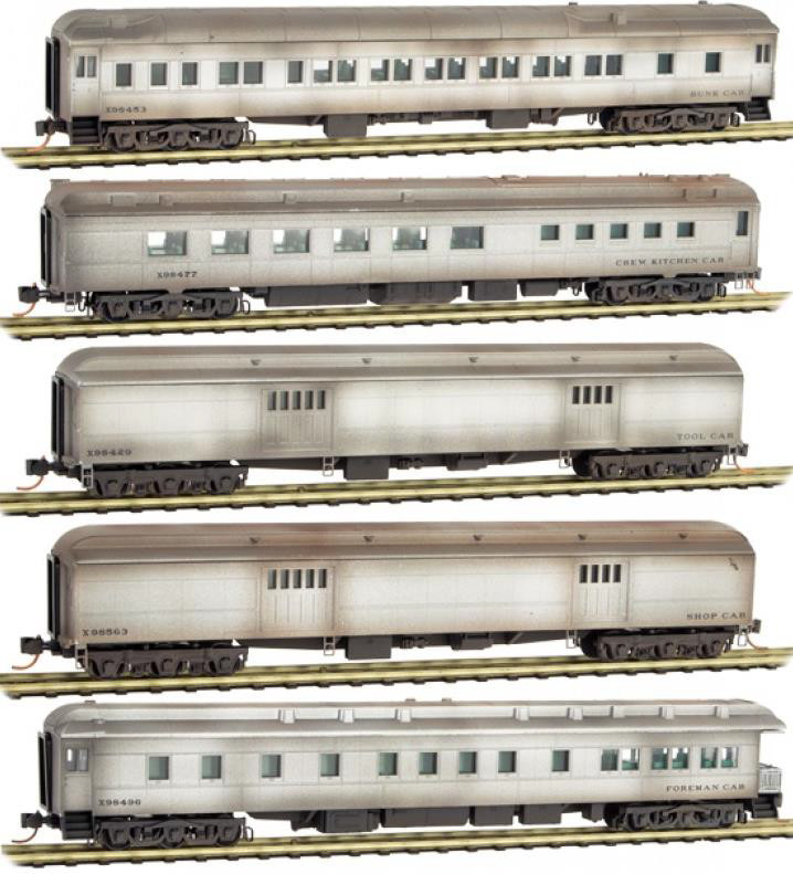 N Scale - Micro-Trains - 993 01 360 - Boxed Set, Runner Pack - Maintenance of Way