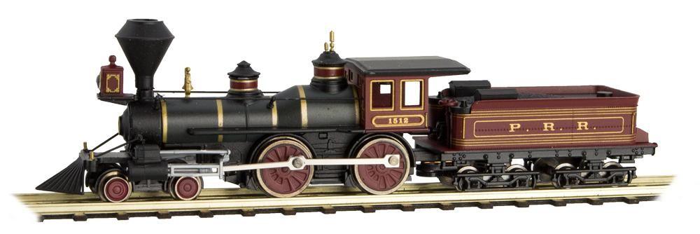 N Scale - Atlas - 985 00 134 - Locomotive, Steam, 4-4-0, American - Pennsylvania - 1512