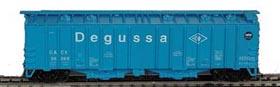 N Scale - Bowser - 37014 - Covered Hopper, 2-Bay, GATX Airslide 4180 - Degussa - 56587