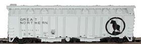N Scale - Bowser - 37045 - Covered Hopper, 2-Bay, GATX Airslide 4180 - Great Northern - 71657