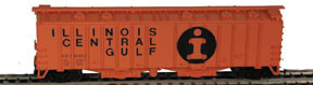 N Scale - Bowser - 37002 - Covered Hopper, 2-Bay, GATX Airslide 4180 - Illinois Central - 782608