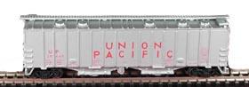 N Scale - Bowser - 37028 - Covered Hopper, 2-Bay, GATX Airslide 4180 - Union Pacific - 20439