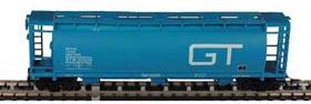 N Scale - Bowser - 37283 - Covered Hopper, 3-Bay, Cylindrical - Grand Trunk Western