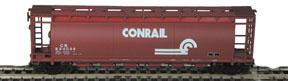 N Scale - Bowser - 37256 - Covered Hopper, 6-Bay, ACF Cylindrical - Conrail - 884584