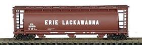 N Scale - Bowser - 37281 - Covered Hopper, 3-Bay, Cylindrical - Erie Lackawanna - 20002