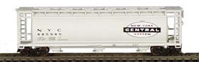 N Scale - Bowser - 37254 - Covered Hopper, 3-Bay, Cylindrical - New York Central