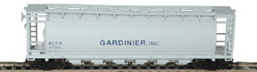 N Scale - Bowser - 37272 - Covered Hopper, 6-Bay, ACF Cylindrical - Gardinier, Inc. - 60980