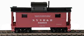 N Scale - Bowser - 37128 - Caboose, Cupola, Steel, NE - New Haven - 500505