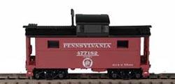 N Scale - Bowser - 37126 - Caboose, Cupola, Steel, NE - Pennsylvania - 477112