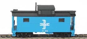 N Scale - Bowser - 37109 - Caboose, Cupola, Steel, NE - Boston & Maine - C-38